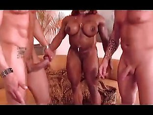 MATURE black muscle bitch fucked