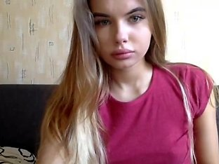 Marvelous European teen make a great show on Girls4